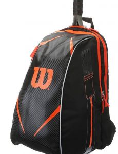 Рюкзак Wilson Topspin Burn backpack black-orange 2016