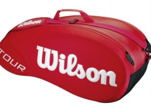 Чехол Wilson Tour Molded 9 red