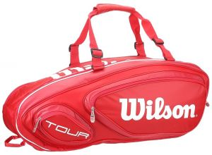 Чехол Wilson Tour V 9 pack red 2016