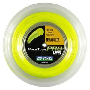 Бобина Yonex Poly Tour Pro Flash yellow 200m 1.25mm