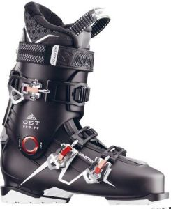 Ботинки Salomon QST PRO 90 Black/Anthra/RD